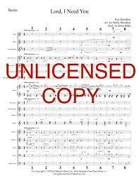 lord i need you sheet music lord i need you piano orchestration printable download