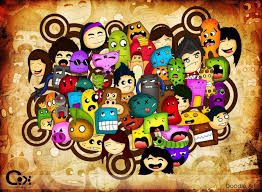 doodle art wallpapers group 69 a