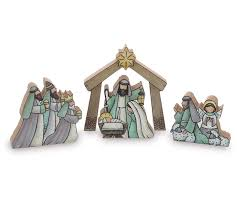 product details wooden nativity set