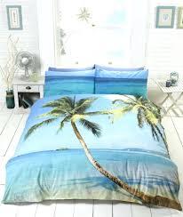 beach themed duvet covers uk beach hut king size duvet cover beach scene tropical island palm