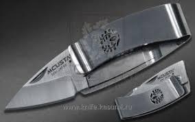 <b>Нож</b>-<b>зажим для денег</b> складной FUJI (глициния) <b>Mcusta</b> MC-0084 ...