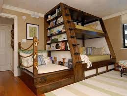 Twin Over Queen Bunk Bed Plans | Teenage Bunk Beds | Awesome Bunk Beds
