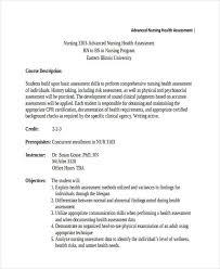 Example Of Nursing Assessment Lamasa Jasonkellyphoto Co
