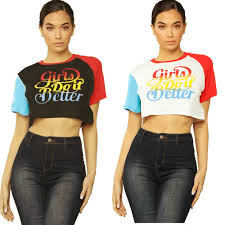 Crazy Shirts Models Lm8044 Designer Ladies Explosion Models European And American Womens Stitching Digital Printing Tops High End Fashion Cool Team Shirts Crazy Shirt