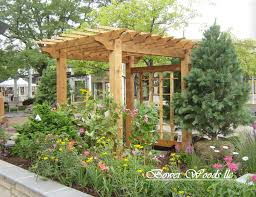 free garden arbor trellis plans