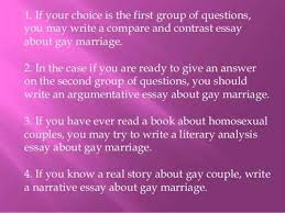 reasons why gay marriage should be legal essay pay us to write reasons why gay marriage should be legal essay professional you