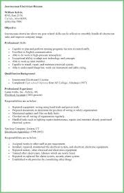 Electrical Apprentice Resume S Sarahepps Com