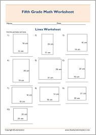 Geometric shapes area and perimeter worksheets – EduMonitor