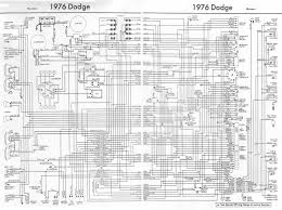 owners and manual electrical wiring diagram dodge 1976