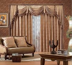 image of classic living room curtain ideas