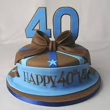 40th Birthday Cake Ideas For Him A Birthday Cake
