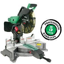 hitachi 8 1 2 miter saw. hitachi 12-in 15-amp dual bevel laser compound miter saw 8 1 2