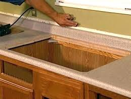 installing formica countertops replacing install counter tops remove stains white cutting installed prefab