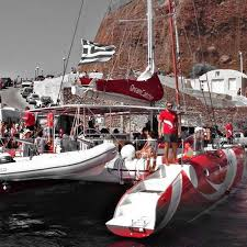 Dream Catcher Boat Santorini dreamcatcher santorini sailing fast100 sail DREAM CATCHER 48