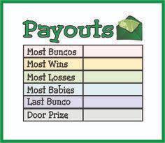 95 Best Bunco Images Bunco Party Bunco Themes Bunco Game