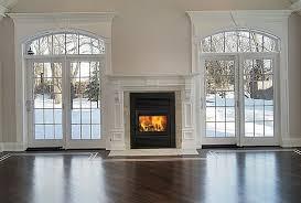 zero clearance gas fireplace