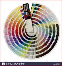 Pantone Colour Wheel Chart Pantone Color Wheel 92471 Pantone Colour Wheel Stock Alamy