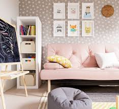 Girl Room Accent Wall Child Decorations