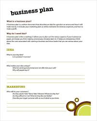 A Simple Business Plan Template Simple Business Plan Format News