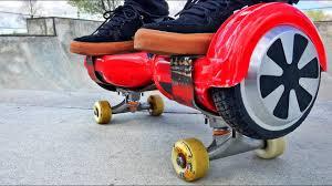 Skating A Hoverboard - YouTube