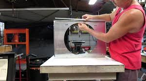 building a custom made fan shroud for dual 11 inch spal fans on a building a custom made fan shroud for dual 11 inch spal fans on a c3 corvette part 1