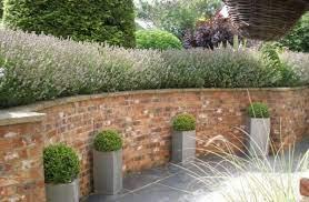 retaining walls design in the garden