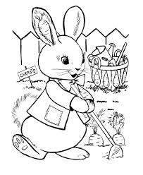 Use markers, crayons, colored pencils, and paint to add some color to your rabbit picture. 60 Rabbit Shape Templates And Crafts Colouring Pages Free Premium Templates