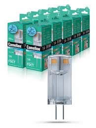 Светодиодная <b>лампочка</b> LED 3W 4500К <b>G4 12В Camelion</b> ...
