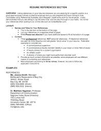 How To Do References On A Resume Do References Go On A Resumes What Should Reference Include