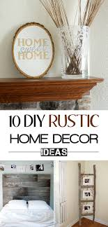 Diy Rustic Home Decor Ideas Model Awesome Inspiration