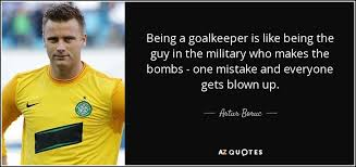 Inspirational Soccer Quotes Impressive TOP 48 GOALKEEPERS QUOTES Of 48 AZ Quotes