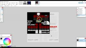 How To Make A Roblox Shirt On Paint Net How To Make A Shirt On Roblox Using Paint Net Nils Stucki