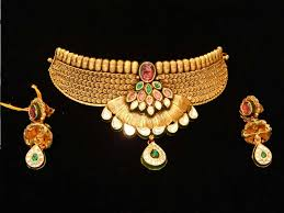 antique necklace designs v l raka jewellers