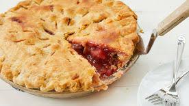 Image result for raspberry rhubarb pie