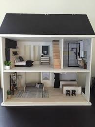 free dollhouse furniture patterns. Doll House Plans Dollhouse Furniture Diy Inch Free Modern Mini Houses Patterns