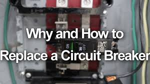 how to replace change a circuit breaker in your electrical panel  how to replace change a circuit breaker in your electrical panel youtube