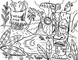 27 Hawaiian Colouring Pages Kids Coloring