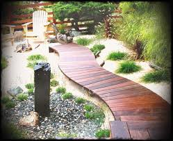 fabulous wooden pathways landscaping garden path and walkway ideas wood ladder stone awesome really raised sofa