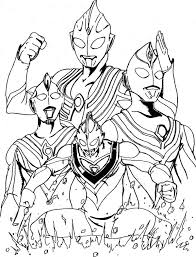 ultraman coloring pages printable colouring book trend
