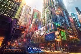 4k Wallpaper Anime City
