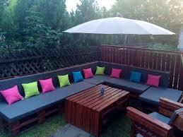 pallet deck furniture. Modren Furniture Pallet Outdoor Seating Set Throughout Pallet Deck Furniture O