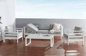 outdoor furniture white. Venus 4 Piece Maxi Lounge Outdoor Furniture White
