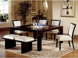 amazing dark wood and glass dining table 13 expandable square
