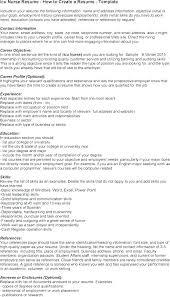 Registered Nurse Resume Sample Nursing Resume Skills Sample Resume ...