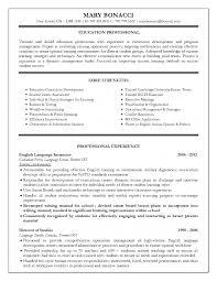 Teaching Resume Ontario Perfect Resume