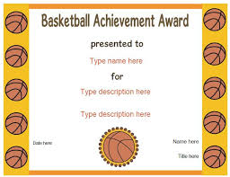 Sports Awards Template Template Guide