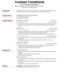 Cv Format Font Size Professional Resume Templates