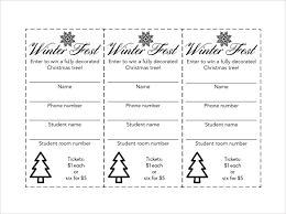 Template For Raffle Tickets To Print Free 24 Raffle Ticket Templates Pdf Psd Word Indesign Illustrator