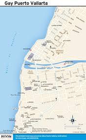 printable travel maps of puerto vallarta  moon travel guides