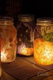 Fall Napkin Luminaries Halloween And Fall Designs You Can Make